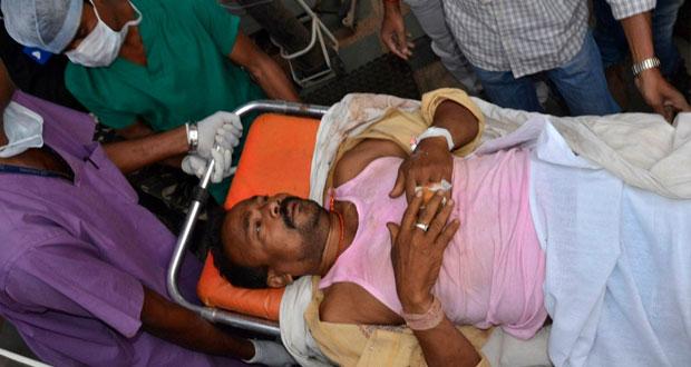 تزامن مع إدلاء الناخبين بأصواتهم انفجاران يوقعان 14 قتيلا بالهند