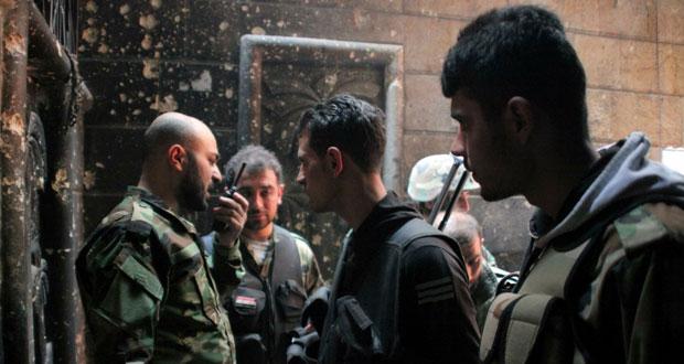 الجيش السوري يتقدم في حمص والمسلحون يردون بتفجير إرهابي