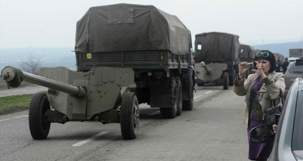 كييف تتراجع أمام احتجاجات (الشرق) وتعلن إصلاحات لاحتواء نزعة (الانفصال)