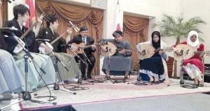 معزوفة خاصة في اليابان يقدمها طلبة عمانيون بجامعة السلطان قابوس