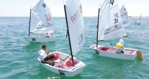 عُمان للإبحار تختتم أولى سباقات تحديد المستوى لأشبال الأوبتمست