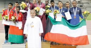 ختام البطولة الخليجية بالدوحة