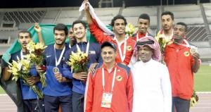 منتخبنا لألعاب القوى يواصل حصد الذهب فى البطولة الخليجية بالدوحة
