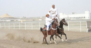 إثارة وتشويق في ختام مهرجان رياضات الخيل التقليدية بمنح