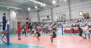 الجيش السلطاني العماني يختتم بطولة الكرة الطائرة لعام 2014م