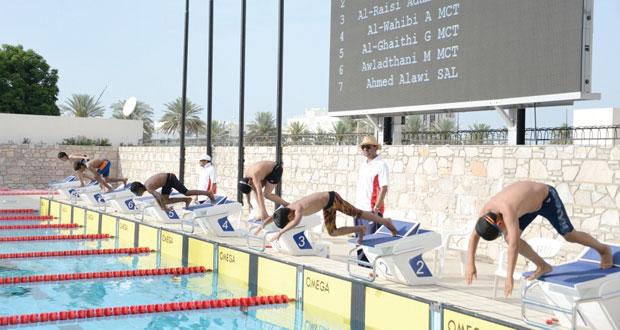 اتحاد السباحة يختتم المرحلة الأولى لبطولة السلطنة الثالثة لمراكز تدريب السباحة