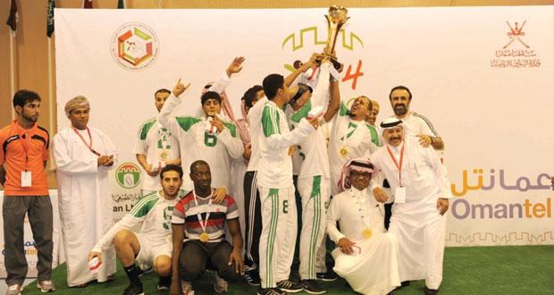 في ختام خليجية الهدف للمكفوفين .. السعودي يتوج باللقب بفارق الأهداف عن منتخبنا (الوصيف) للمرة الأولى في التاريخ