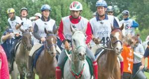 الفارس أحمد الحمداني يحقق المركز الثاني بسباق راتيير الفرنسي