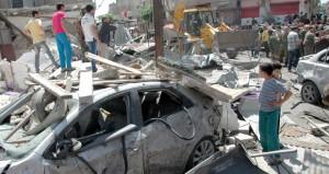 سوريا: إرهابيون يغتالون 45 بـ(مفخخة) في حمص