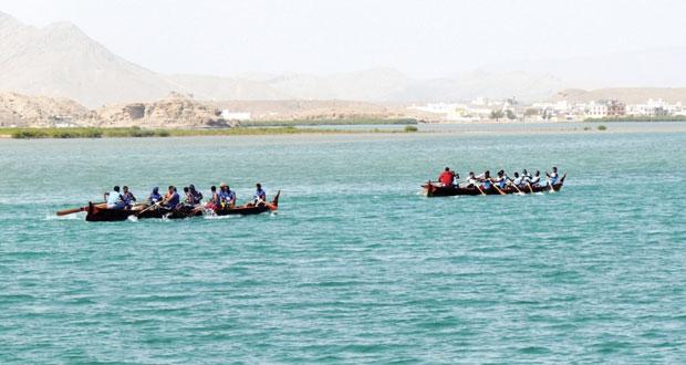 ختام ناجح لسباق القوارب التقليدية بصور2014 برعاية عبد المنعم الحسني