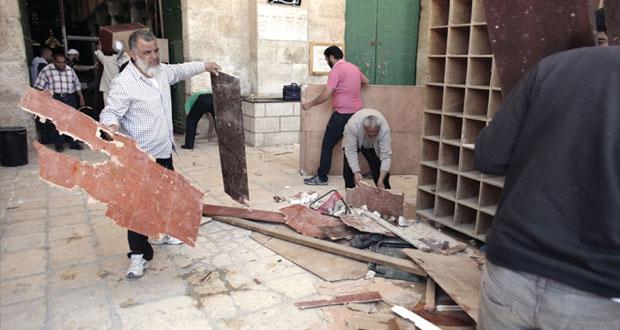 المرابطون يحبطون محاولة جديدة لاقتحام (الأقصى) من ميليشيا إرهابية إسرائيلية