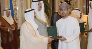 أمير الكويت يكرم زياد الحربي بميدالية مجلس التعاون الخليجي في مجال الإبداع الموسيقي