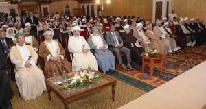 المنذري يرعى فعاليات ندوة تطور العلوم الفقهية الثالثة عشرة (الفقه الاسلامي: المشترك الإنساني والمصالح)