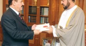 رسالة لجلالة السلطان من ملك الأردن