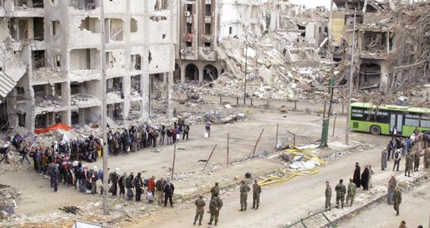 سوريا: حمص تلفظ الإرهاب .. وتبدأ إعادة الاعمار