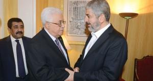 عباس ومشعل يناقشان المضي في (شراكة حقيقية)