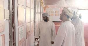 """تواصل استقبال زوار المعرض الوثائقي """"البريمي في ذاكرة التاريخ العماني"""" حتى السبت المقبل"""