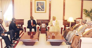 السلطنة وجمهورية الكونغو الديمقراطية تبحثان مجالات التعاون الاقتصادي