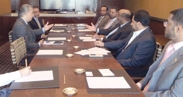 لقاءات ثنائية بين أعضاء الوفد والجهات الحكومية البرازيلية في مجال الاستثمار والتجارة الخارجية
