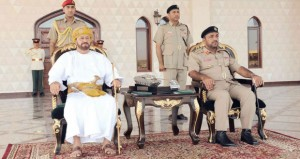 مدرعات سلطان عمان تحتفل بمرور 43 عاماً على تشكيلها