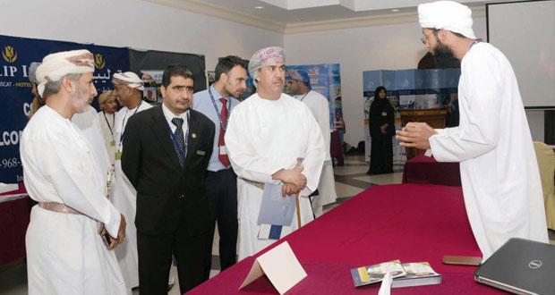 بدء فعاليات معرض الوظائف في كلية عمان للسياحة