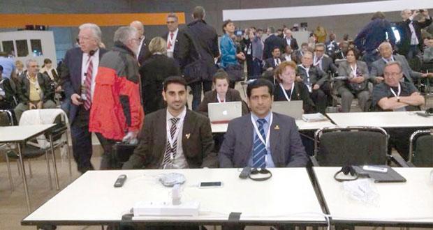الاتحاد العام لعمال السلطنة يشارك بالمؤتمر الثالث للاتحاد الدولي للنقابات ببرلين