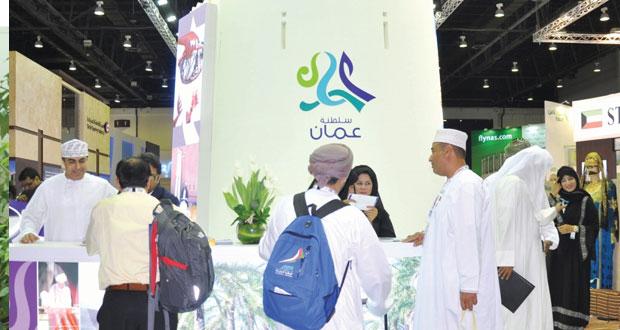 السلطنة تبرز مقوماتها السياحية في معرض سوق السفر العربي بدبي