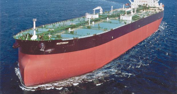 الناقلة (المزيونة) تنضم إلى أسطول الشركة العمانية للنقل البحري