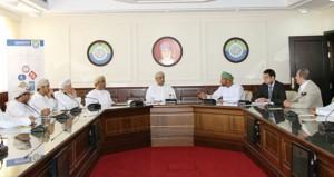 المجلس الأعلى للتخطيط يبحث مع القطاع الخاص الاستراتيجية الشاملة للتنمية الاقتصادية لمحافظة مسندم