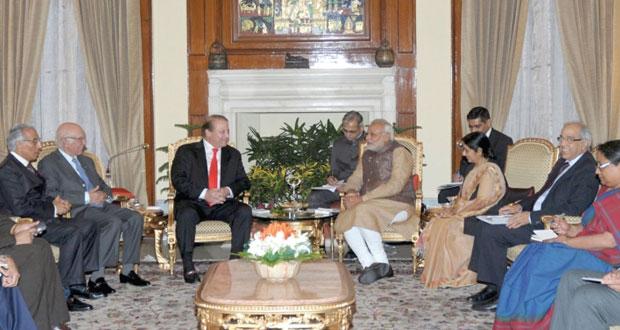 (الإرهاب) محور أول جلسة مباحثات بين رئيسي وزراء الهند وباكستان