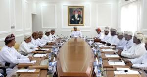 اجتماع المجلس البلدي بالوسطى