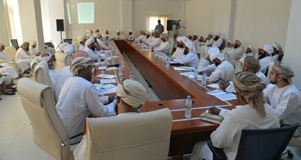 اختتام فعاليات لقاء مديري ادارات ومكاتب الاوقاف والشؤون الدينية بالمحافظات