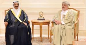 المنذري والمعولي يستقبلان رئيس المجلس الوطني الاتحادي الاماراتي