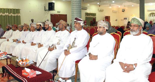 الاحتفال بأسبوع الأصم العربي وتكريم المساهمين في تطبيق برامج دمج ذوي الإعاقة السمعية بنزوى