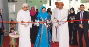 علياء آل سعيد تفتتح معرض عروس مسقط السادس 2014