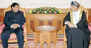 فهد بن محمود يستقبل وزير الدولة للشؤون الخارجية بجمهورية الهند