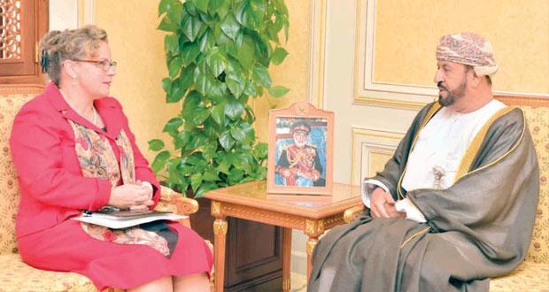 بدر بن سعود يستقبل سفراء هولندا وأسبانيا وقبرص