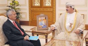 النعماني يستقبل سفراء كازخستان وقبرص وروسيا الاتحادية