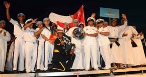 """السفينة """"شباب عمان الأولى"""" تنهي مسيرة العطاء والخير والإنجازات الخالدة التي سطرتها"""