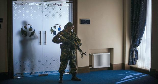 """أوكرانيا: روسيا """" مستاءة """" من عمليات كييف القتالية شرقا"""