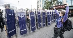 تركيا : استنفار أمني في اسطنبول واردوغان يهدد بتوقيف كل من يتظاهر