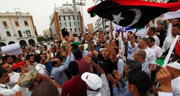 ليبيا مشروع (مكافحة الإرهاب) إلى البرلمان والحكومة تحذره من جلب المليليشيات لطرابلس