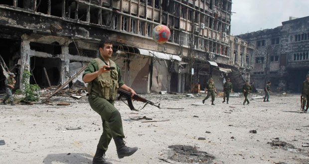 حمص تلفظ آخر المسلحين والجيش يضبط أنفاق ومستشفيات ميدانية