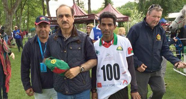 الفارس محمود الفوري يحصل على لقب فارس النخبة في سباقات القدرة
