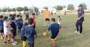 """""""شل للتنمية """" تضع أهدافا جديدة لممارسة الشباب لكرة القدم في السلطنة"""