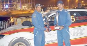 سعيد المنجي ثانيا في سباق رالي رأس الخيمة