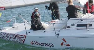 """القارب """"مسندم"""" يخوض سباقات """"آرمن"""" الفرنسية والطاقم النسائي يختتم تحدي """"جراند بريكس نافال"""""""