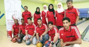 بعثة منتخبنا الوطني للبولينج تتوجه إلى البحرين للمشاركة في البطولة الخليجية