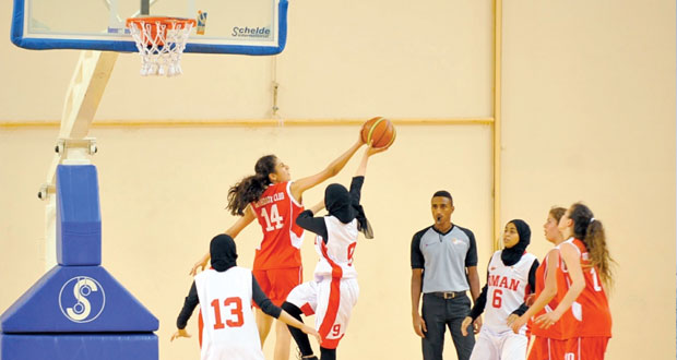 منتخب فتيات السلة جاهز لانطلاق البطولة الخليجية بالكويت