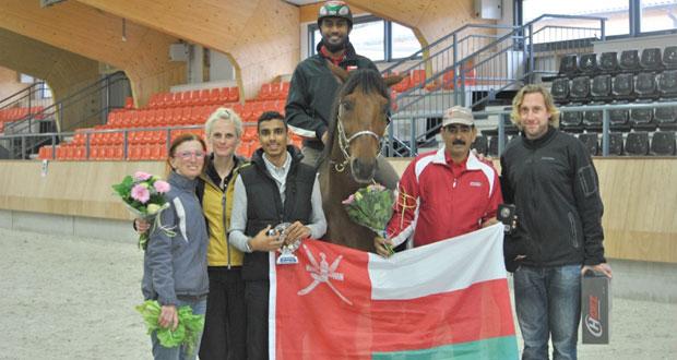 لؤي آل سعيد يتوج بلقب بطولة هولندا للقدرة والتحمل ويتأهل الى نهائيات العالم بجدارة
